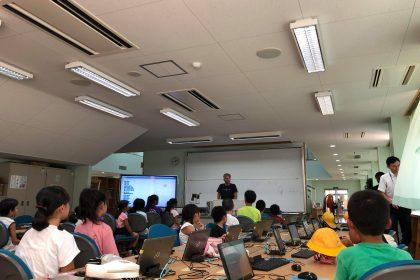 富士見小学校にて行われたScratch講座